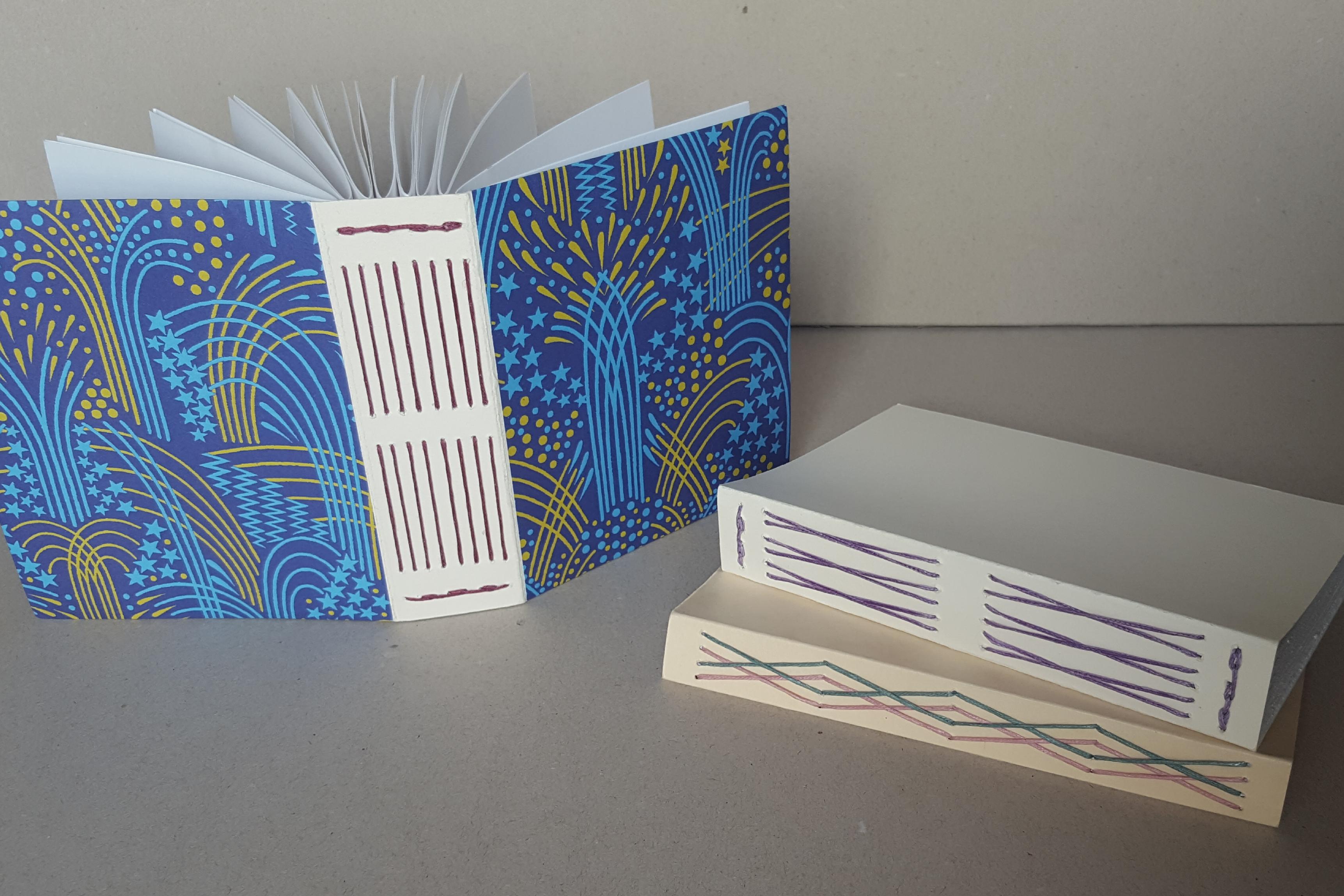 long stitch bindings